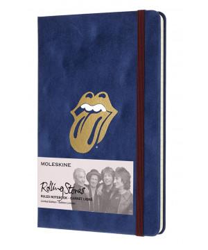 Moleskine Rolling Stones zápisník linkovaný L Flock