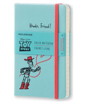Moleskine Toy Story zápisník linkovaný modrý S