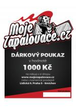 e-Dárkový poukaz 1000 Kč