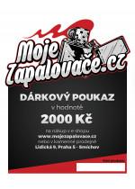 e-Dárkový poukaz 2000 Kč
