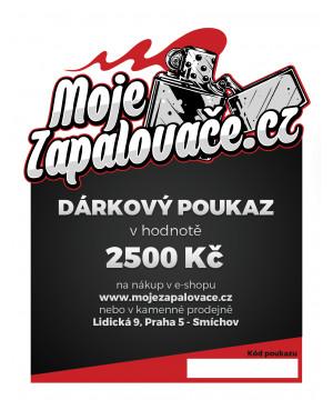 e-Dárkový poukaz 2500 Kč