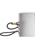 Brushed Chrome Loss Proof Zippo 21012
