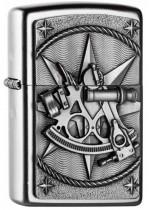 Sextant Emblem Zippo