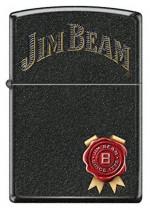 Jim Beam Black Crackle Zippo