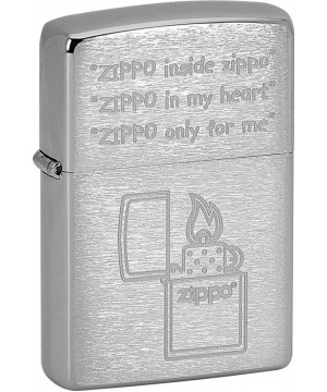 ZIPPO ONLY FOR ME 21667