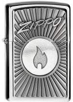Zippo Chip With Flame 21758