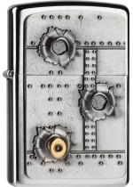 Zippo 3D Bullet Holes 21805
