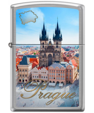 Zippo Prague Old Town Square 21889