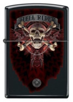 Anne Stokes Collection Hell Rider Skull & Crossbones