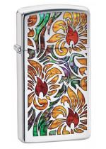 Zippo Fusion Floral Design 22051