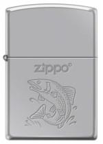 Fish Zippo 22102