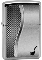 PIPE LIGHTER ALL CHROME 22877