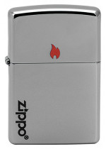 ZIPPO AND FLAME 22998