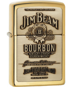 JIM BEAM® BRASS EMBLEM 23156