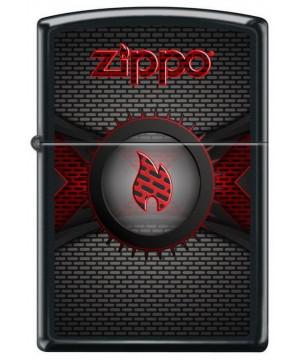 Red Flame Logo Brick 23728