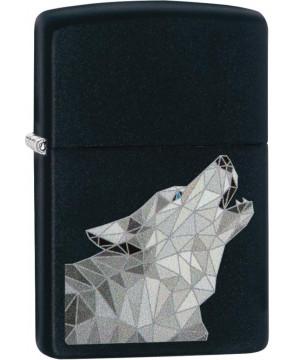 Polygonal Wolf Zippo 23941