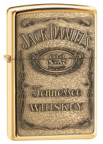 JACK DANIEL'S LABEL - BRASS EMBLEM 24146