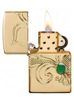 Armor® Fleur-de-lis Design Zippo 24203