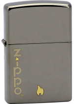 ZIPPO AND FLAME 25469