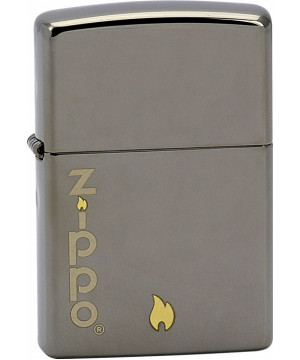 ZIPPO AND FLAME 25469