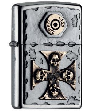 Vintage Cross Skull 25474