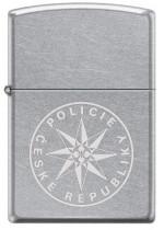 Policie in Laser Zippo 25482