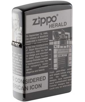 Zippo Newsprint Design 25528