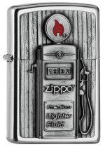 Gas Pump Emblem Zippo 25540