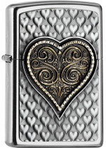 Zippo Heart Emblem 25542