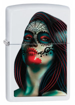 Day of the Dead Lady Tattoo 26010