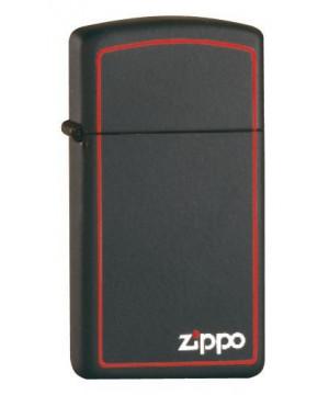 ZIPPO BLACK MATTE SLIM 26055