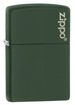Green Matte ZL Zippo 26093