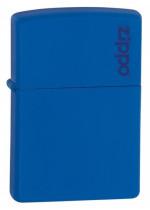 Zippo Royal Blue Matte W/Zippo Logo 26095