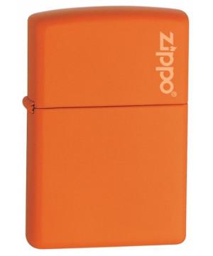 Orange Matte w/Zippo Logo 26103