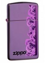 Purple Rose Zippo 26681