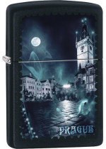 Prague at Night Zippo 26697