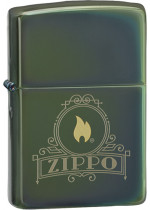 ZIPPO AND FLAME 26698