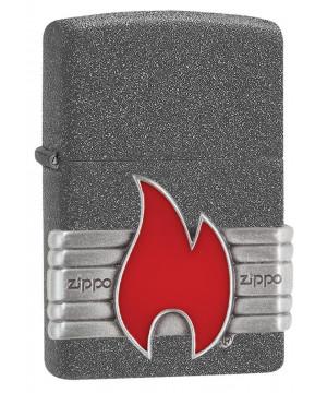 Zippo Red Vintage Wrap 26846