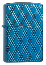Armor® High Polish Blue Diamonds Zippo 26884