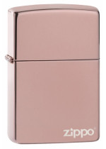 High Polish Rose Gold Zippo 26908