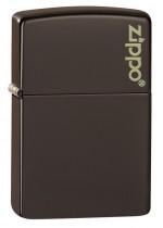 Brown Logo Zippo 26911