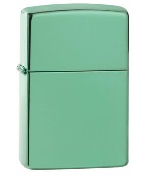 High Polish Green Zippo 26915