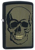 Skull Zippo 26918