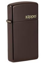Slim® Brown Logo Zippo 26958