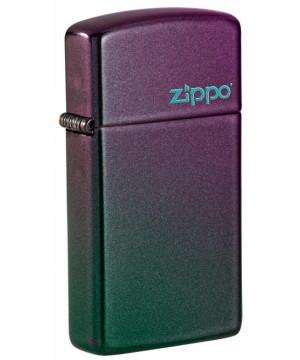 Slim® Iridescent Zippo Logo 26962