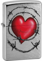 HEART AND BARBED WIRE 27110