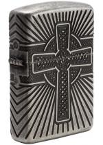 Zippo Armor Celtic Cross Design 27153
