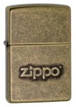Zippo Stamp Antique Brass 29001