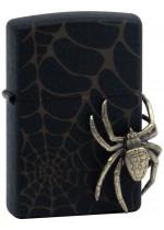 Black Spider Zippo 29111