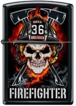Fireman Skull In Helmet 29218